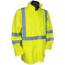 Hi Visiblity Light Weight Rain Jacket