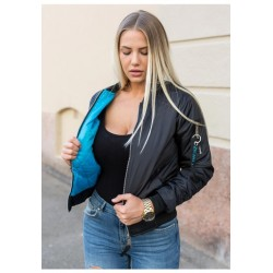 LADIES BOMBER JACKET MANUFACTURER ZICHO BRAND