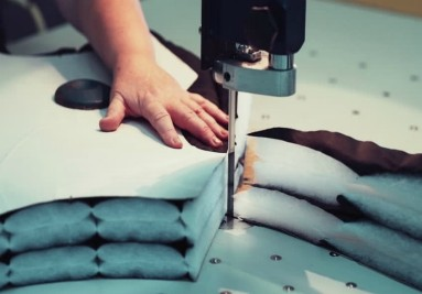 Garments cutting process